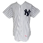 1983 Roy Smalley New York Yankees Game-Used Home Jersey