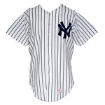 1983 Jay Howell New York Yankees Game-Used Home Jersey
