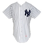 1983 Doyle Alexander New York Yankees Game-Used Home Jersey