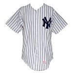 1983 Bob Shirley New York Yankees Game-Used Home Jersey