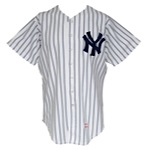 1983 Dale Murray New York Yankees Game-Used Home Jersey & 1984 Omar Moreno New York Yankees Game-Used Home Jersey (2)