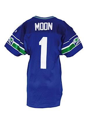 half off 4c396 e4df4 Lot Detail - 1997 Warren Moon Seattle Seahawks Game-Used ...