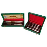 August 3, 1959 Mickey Mantle All-Star Game Presentational Knife Set (2)(Mantle Family LOA)