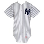 1987 Rick Rhoden New York Yankees Game-Used & Autographed Home Jersey (JSA)