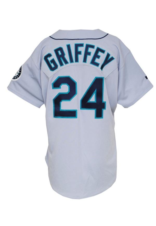 Lot Detail - 1993 Ken Griffey Jr. Seattle Mariners Game-Used Road ... 1fff1b1cc