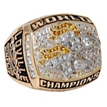 1998 Derek Loville Denver Broncos Super Bowl Championship Player Ring (Player Provenance)