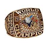 1993 Toronto Blue Jays World Series Championship Ring