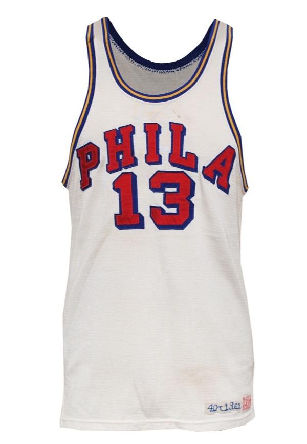 meet caf70 99119 Lot Detail - 1961-62 Wilt Chamberlain Philadelphia Warriors ...
