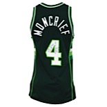 1988 Sidney Moncrief Milwaukee Bucks Road Game-Used & Autographed Jersey (Moncrief LOA • JSA)