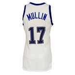 1986-87 Chris Mullin Golden State Warriors Game-Used Home Jersey