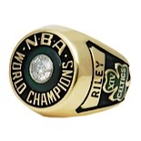 1981 Stephen Rileys Boston Celtics NBA Championship Ring (Riley LOA)