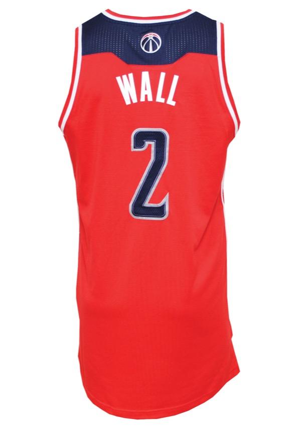 Lot Detail - 2013-14 John Wall Washington Wizards Game-Used Road Jersey 289ab9007
