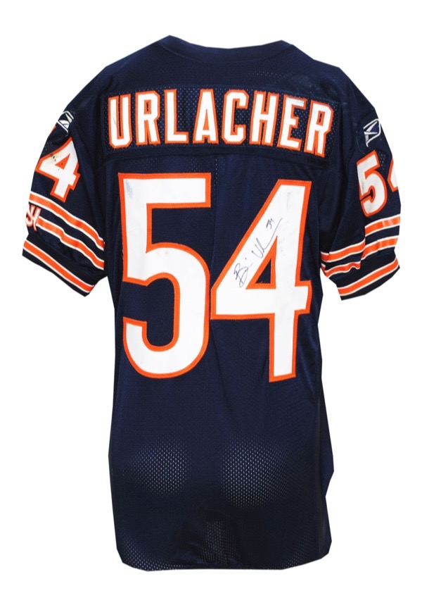 Lot Detail - 10/17/2010 Brian Urlacher Chicago Bears Game-Used ...