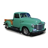 1949 Chevrolet 3100 2-Door Pickup Truck (Beautifully Restored Wood Bed)