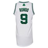 2010-11 Rajon Rondo Boston Celtics Game-Used & Autographed Home Jersey (JSA)