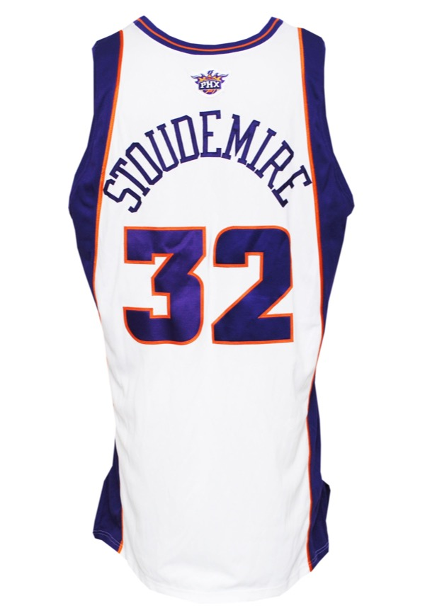 Lot Detail - 2003-04 Amare Stoudemire Phoenix Suns Game-Used Home Jersey cc2a645bb