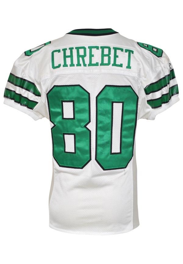 Lot Detail - 1997 Wayne Chrebet New York Jets Game-Used ...