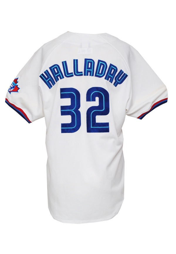 pretty nice 213a9 982cc 32 roy halladay jersey yesterday