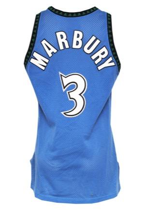 ab4f26fc283 Lot Detail - 1996-97 Stephon Marbury Minnesota Timberwolves Rookie ...