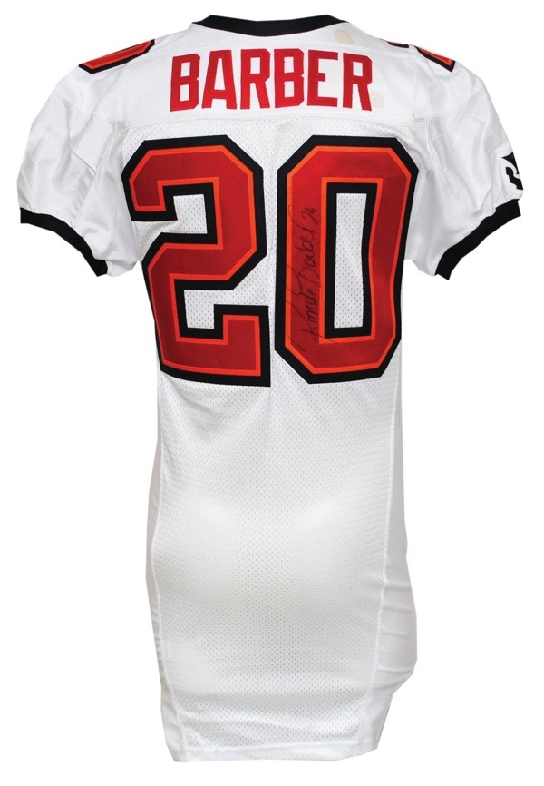 cheap for discount b37c0 e59d9 Lot Detail - 2008 Ronde Barber Tampa Bay Buccaneers Game ...