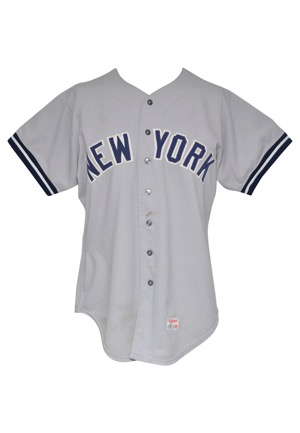 1978 Lou Piniella New York Yankees Game-Used Road Uniform (2)(Championship Season)