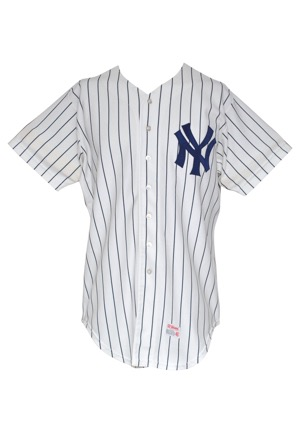 1979 Chris Chambliss New York Yankees Game-Used Home Jersey