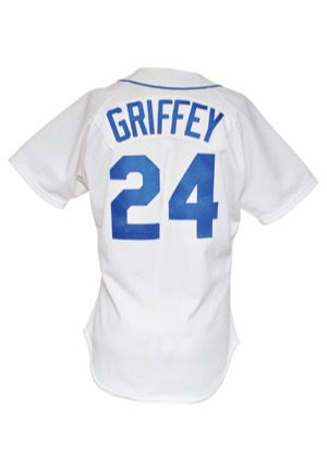 1989 Ken Griffey Jr. Rookie Seattle Mariners Game-Used Home Jersey (Photomatch • Rare)