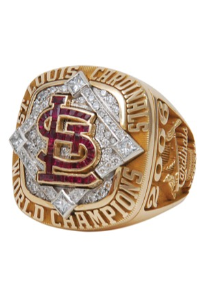 2006 St. Louis Cardinals World Series Championship Ring with Original Presentation Box (MINT)