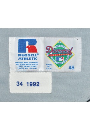 wholesale dealer 6a3b4 445e5 Lot Detail - 1992 Nolan Ryan Texas Rangers Game-Used ...
