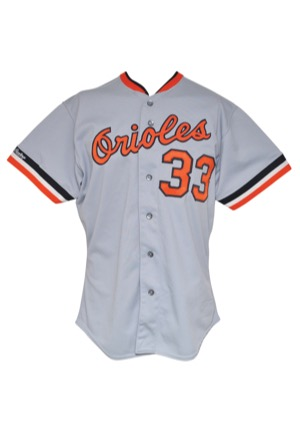 0e8ac1f7d92 Lot Detail - 1988 Eddie Murray Baltimore Orioles Game-Used Road Jersey