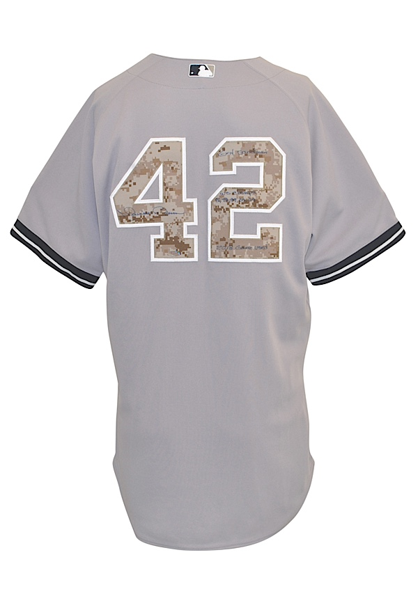 online retailer 61ae8 f7767 Lot Detail - 5/27/2013 Mariano Rivera New York Yankees Bench ...