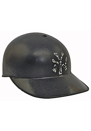 Early 1960s New York Yankees Game-Used Batting Helmet Attributed To Rookie Era Tom Tresh
