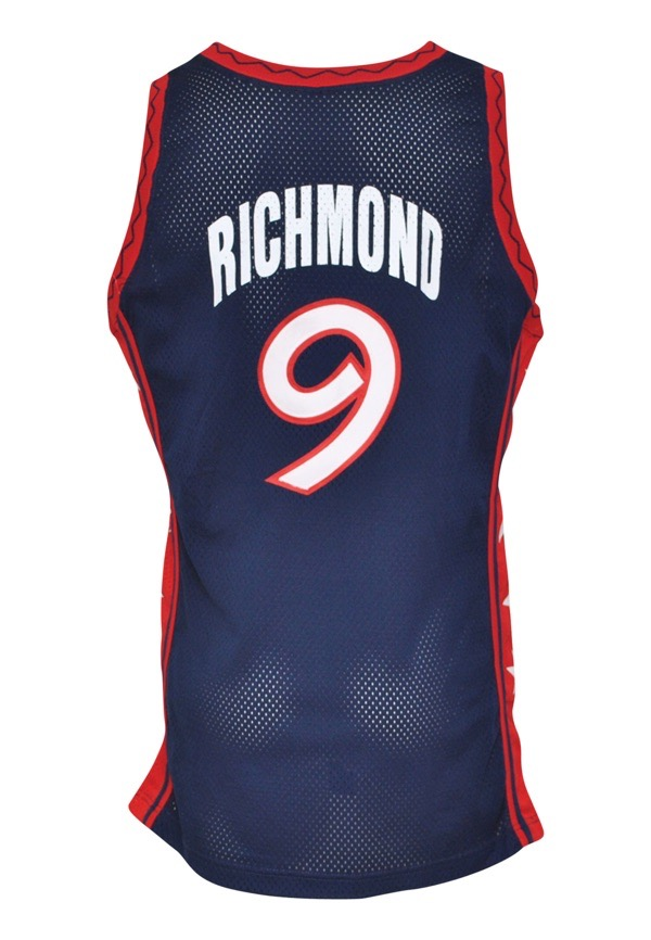 80204d9ff4a5 Lot Detail - 1996 Mitch Richmond Team USA Olympics Game-Used Road ...