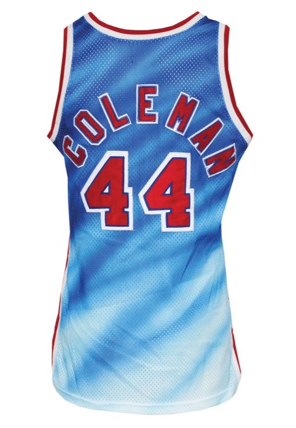 Lot Detail - 1990-91 Derrick Coleman Rookie New Jersey Nets Game ...