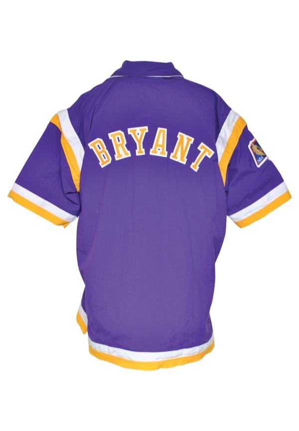 Lot Detail - 1996-97 Kobe Bryant Rookie Los Angeles Lakers Worn ...