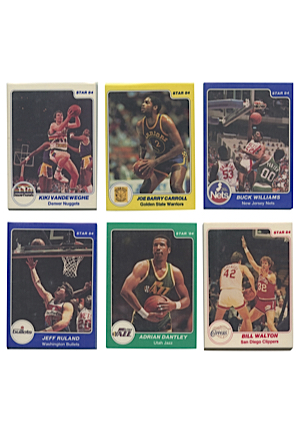 1983-84 Star Basketball Cards Complete Set (275)