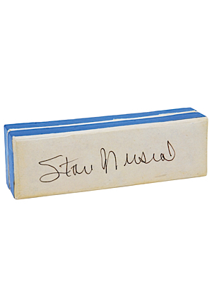 Stan Musial Model Harmonica with Autographed Box (JSA)