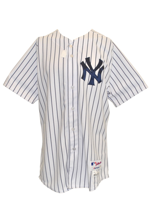 5/4/2014 Carlos Beltran New York Yankees Game-Used & Autographed Home Pinstripe Jersey (JSA • PSA/DNA • MLB Hologram • Steiner Sports LOA)