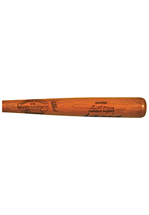 1948 Ted Williams Boston Red Sox Game-Used & Autographed Bat (Full JSA LOA • PSA/DNA GU8 • AL Batting Champion)