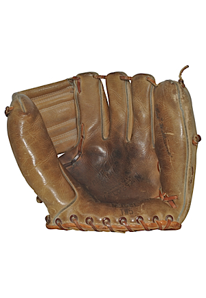 Ted Williams Model Autographed Store Model Glove (JSA)