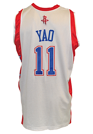 2004 NBA All-Star Pro-Cut Game Jerseys — Ron Artest & Yao Ming Eastern Conference & Western Conference (2)