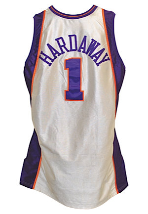 "2000-01 Anfernee ""Penny"" Hardaway Phoenix Suns Game-Used Home Jersey"