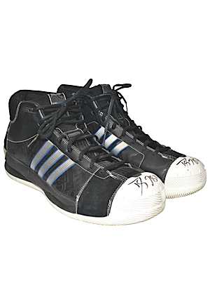 2008 Dwight Howard Orlando Magic Game-Used & Autographed Sneakers (JSA • Ball Boy LOA)