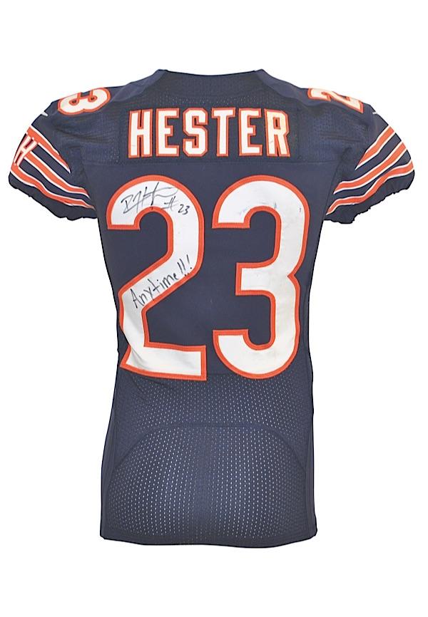 6a3edcfa2 Lot Detail - 10/1/2012 & 10/22/2012 Devin Hester Chicago Bears Game ...