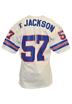 Mid 1970s Tom Jackson Rookie Era Denver Broncos Game-Used Road Jersey