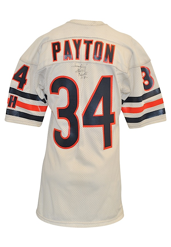 Lot Detail - Mid 1980s Walter Payton Chicago Bears Game-Used Road Jersey 80b202373