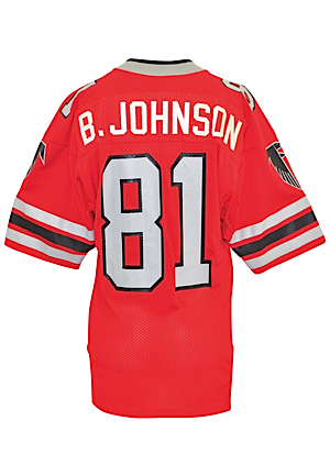 "Mid 1980s Billy ""White Shoes"" Johnson Atlanta Falcons Game-Used Home Jersey"
