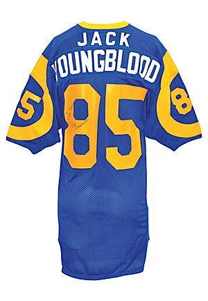 Early 1980s Jack Youngblood Los Angeles Rams Game-Used Road Jersey
