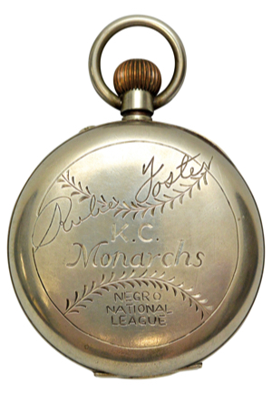 Early 1920s Rube Foster Kansas City Monarchs Negro National League Argentina Depose Pocket Watch