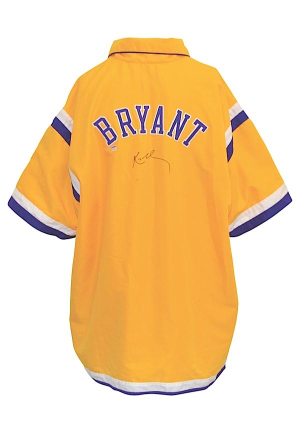 8eeb6e40e49d Lot Detail - 1997-98 Kobe Bryant Los Angeles Lakers Player-Worn ...